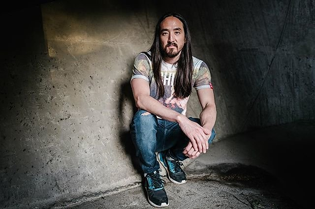US DJ & producer Steve Aoki
