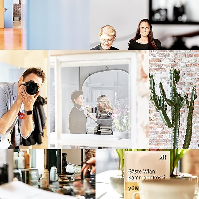 Creative photo and video job for Kammann Rossi Cologne. Great content marketing agency, splendid-looking people. :) .